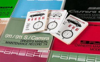 Η Porsche επανεκτυπώνει εγχειρίδια ιστορικών της οχημάτων