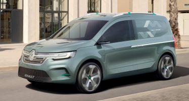 Το επόμενο Renault Kangoo θα είναι πιο κομψό και ηλεκτροκίνητο (video)