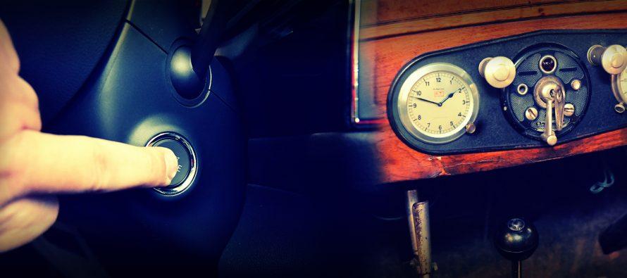 Πώς βάζαμε μπρος το αυτοκίνητο το 1908 και πώς σήμερα;