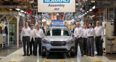 Πού έχουν κατασκευαστεί 4 εκατομμύρια Subaru; (video)