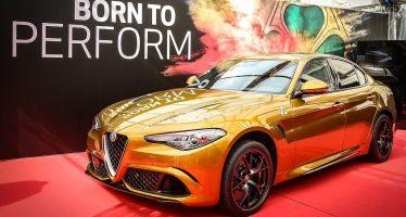 H Alfa Romeo χρύσωσε τη Giulia