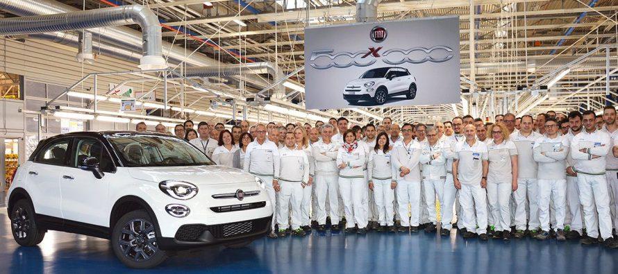 Ρεκόρ παραγωγής μισού εκατομμυρίου για το Fiat 500X