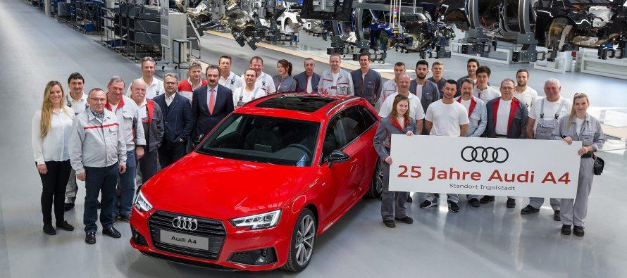 Πόσα εκατομμύρια Audi A4 πιστεύετε ότι έχουν κατασκευαστεί;