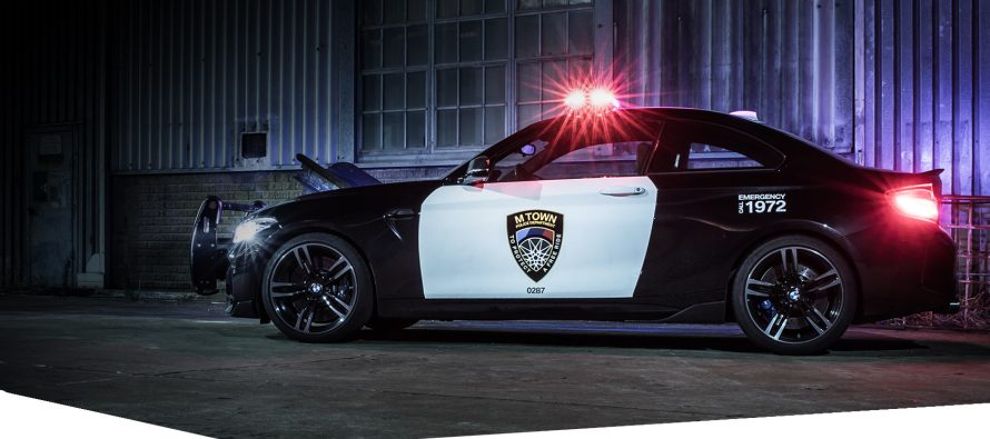 H BMW M2 έγινε περιπολικό σε μια πόλη που δεν υπάρχει (video)
