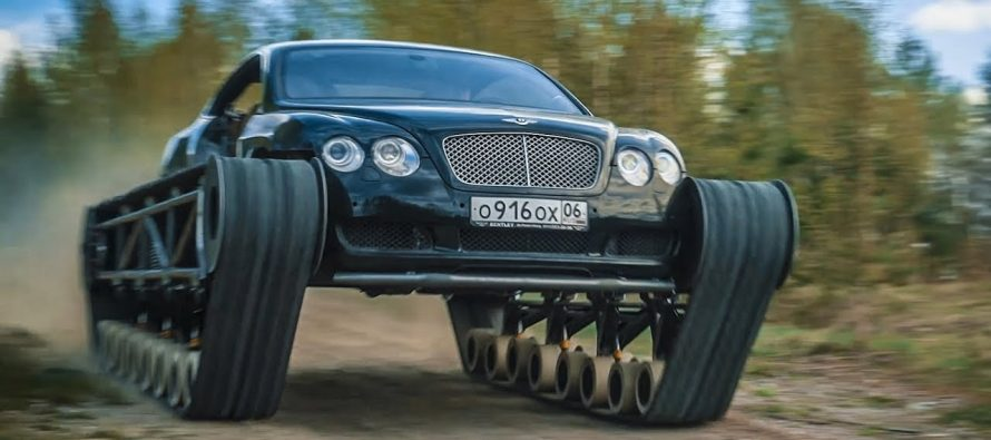Μετέτρεψαν μια Bentley Continental GT σε τανκ (video)