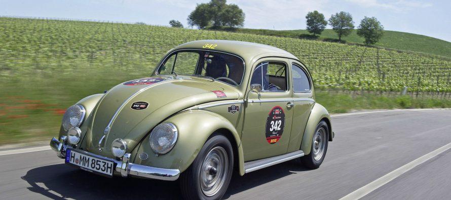 Volkswagen Beetle με κινητήρα και εξαρτήματα της Porsche