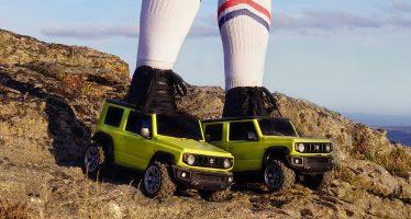 Το Suzuki Jimny τώρα και σε roller skates (video)