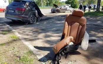 Το νήμα της ζωής κόπηκε στα δυο για το Audi Q7 αλλά όχι και για τον οδηγό του
