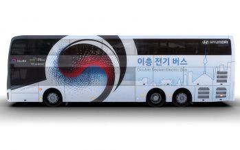 Ηλεκτρικό και διώροφο το νέο λεωφορείο της Hyundai