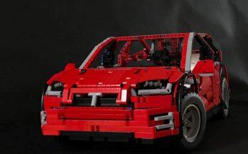 Αυτή η μινιατούρα από Lego κάνει ότι και το πραγματικό Tesla Model X (video)