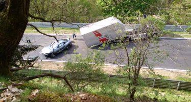 Τρακάρισμα είχε η νέα Toyota Supra