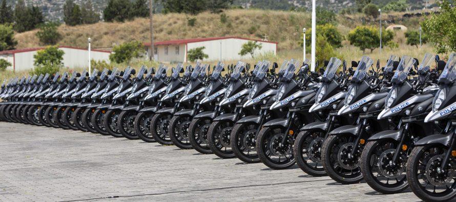 H Ελληνική Αστυνομία απέκτησε 114 νέα οχήματα