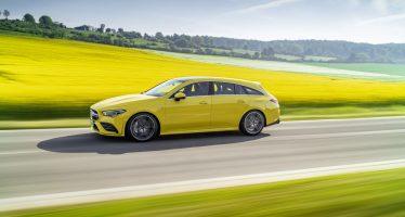 Κίτρινος πυρετός από τη νέα Mercedes AMG CLA 35 Shooting Brake (video)