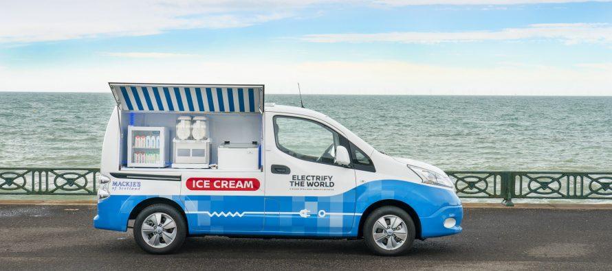 Το οικολογικό παγωτό της Nissan (video)