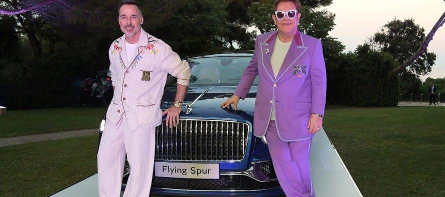 H Bentley Flying Spur του Έλτον Τζον πουλήθηκε 700.000 ευρώ
