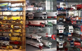 Δείτε μια τεράστια συλλογή από μινιατούρες φορτηγών