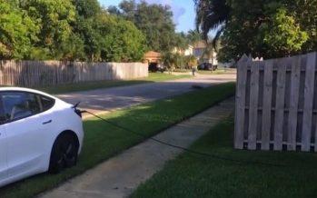 Έκλεψε ρεύμα από ξένο σπίτι για να φορτίσει το αυτοκίνητο του