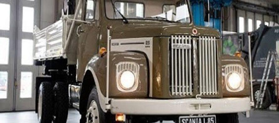 Φορτηγό Scania 48 ετών έγινε σαν καινούργιο (video)
