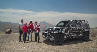 Στο στόλο του Ερυθρού Σταυρού το νέο Land Rover Defender (video)