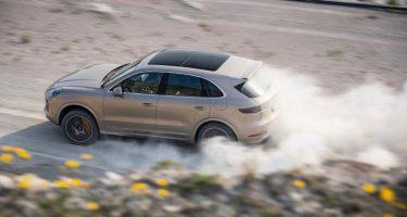 Ρεκόρ χρόνου σε υπό κατασκευή πίστα έκανε η Porsche Cayenne (video)