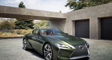Αποκλειστικά στο συλλεκτικό Lexus LC αυτή η πράσινη απόχρωση