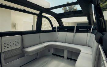 Το νέο ηλεκτροκίνητο βαν που διαθέτει καναπέ