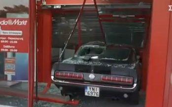 Ληστεία αλά ελληνικά με ιστορικό Ford Mustang του 1967