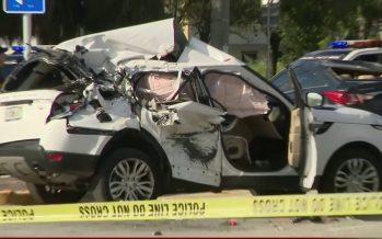 Τρομακτικό ατύχημα προκάλεσε μια Mercedes C-Class (video)