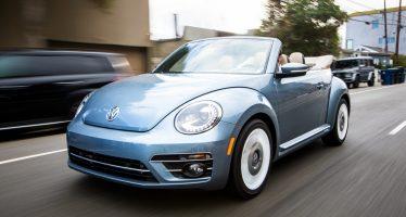 Η Volkswagen χάρισε ένα cabrio Beetle για ιατρικούς σκοπούς