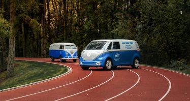 Βαν της Volkswagen πλανόδιος πωλητής υποδημάτων