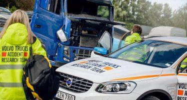 Γιατί η Volvo ερευνά τα τροχαία ατυχήματα των φορτηγών της;