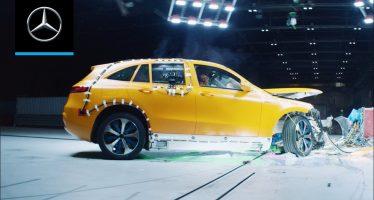 Δείτε crash-test της Mercedes πριν 60 χρόνια (video)