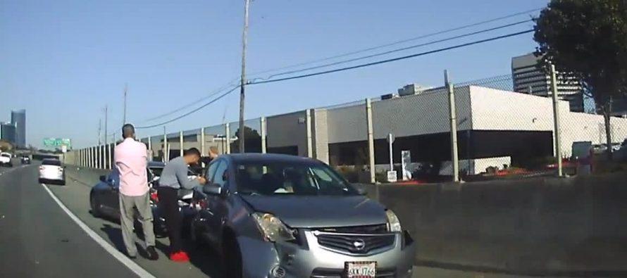 Να γιατί δεν πρέπει να στεκόμαστε δίπλα στο αυτοκίνητο μας αν πάθει βλάβη (video)
