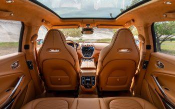 Δείτε το εσωτερικό της νέας Aston Martin DBX αξίας 193.500 ευρώ