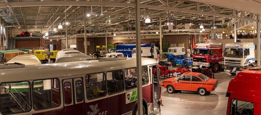 Δείτε το ανακαινισμένο μουσείο φορτηγών της DAF