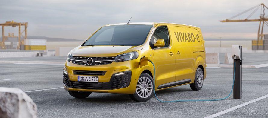 Μέχρι 300 χλμ. με μια φόρτιση θα διανύει το νέο Opel Vivaro-e
