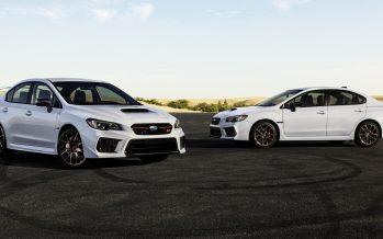 Συλλεκτικά και λευκά Subaru WRX και WRX STI