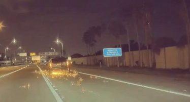 Μεθυσμένος οδηγός έγδαρε ένα Tesla Model 3 (video)