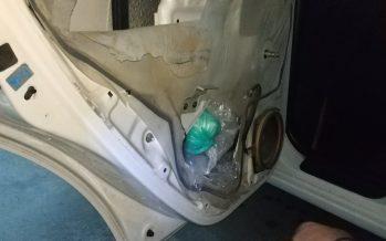 Πέντε κιλά ηρωίνη σε κρύπτη πόρτας αυτοκινήτου
