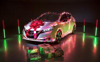 To Nissan Leaf μας λέει τα κάλαντα (video)
