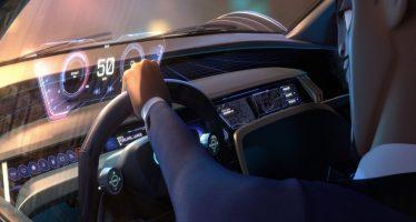 Πίνακα οργάνων με ολόγραμμα έχει το νέο Audi RSQ e-tron (video)