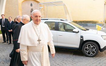 Το νέο αυτοκίνητο του Πάπα Φραγκίσκου