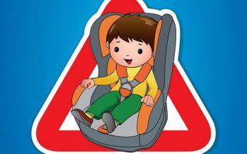 Η Τροχαία εντόπισε 100 παραβάσεις για μη ασφαλή μεταφορά παιδιών στο αυτοκίνητο