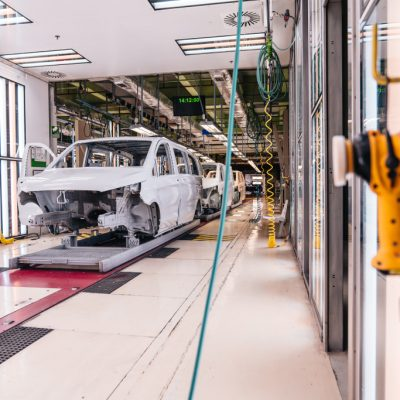 Der 222.222ste Mercedes unter den Großraumlimousinen verlässt das Werk VitoriaThe 222,222nd Mercedes among MPVs leaves the Vitoria plant