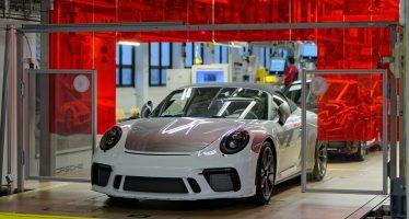 Το ύστατο χαίρε στην Porsche 991