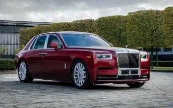 Κρυστάλλινα σωματίδια στη βαφή μιας Rolls-Royce Phantom