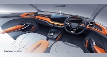 Εντυπωσιακό το εσωτερικό του νέου Skoda Vision IN