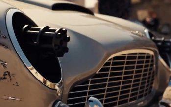 Κρυφά πολυβόλα πίσω από τους προβολείς της Aston Martin DB5 (video)
