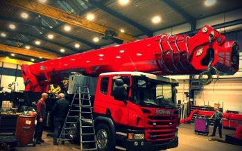 Scania με πλατφόρμα ανύψωσης 90 μέτρων (video)