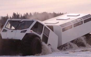 Η «Κιβωτός» από τη Ρωσία με δέκα τροχούς που αντέχει τα πάντα (video)